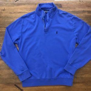 Polo Golf Ralph Lauren Pullover Sweater Zip Sz L